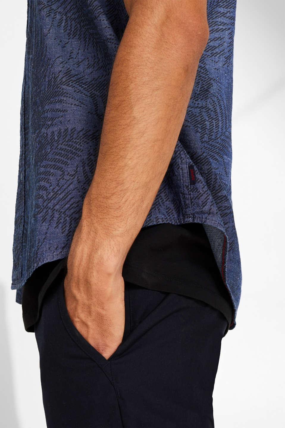 Shirts woven Regular fit, BLUE DARK WASH, detail image number 2