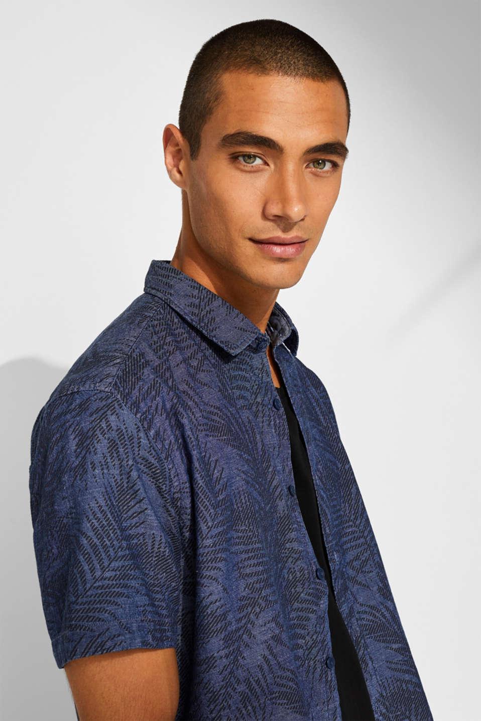 Shirts woven Regular fit, BLUE DARK WASH, detail image number 5