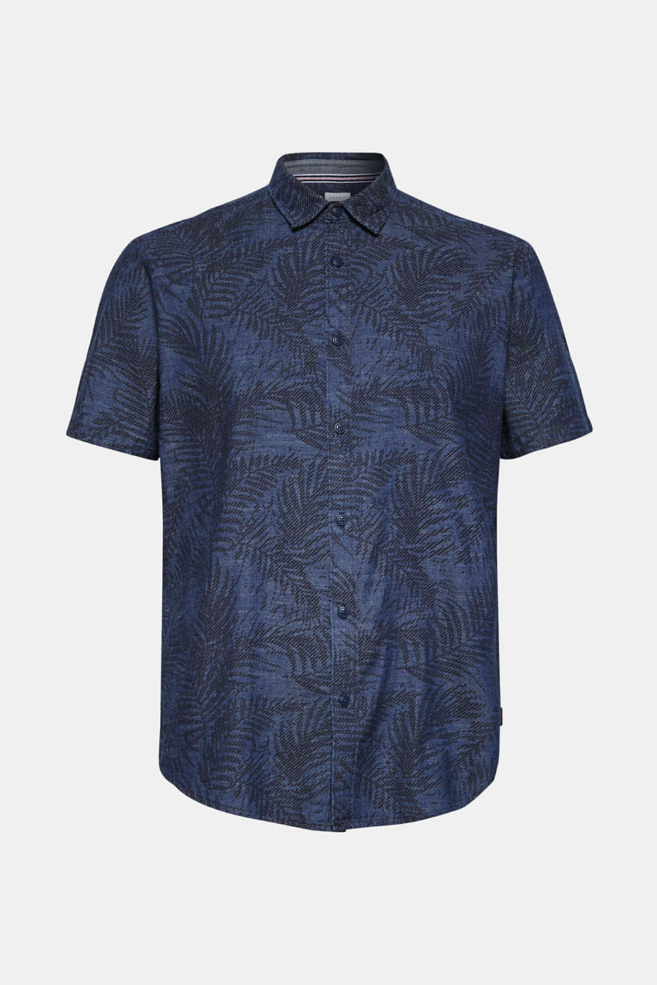 Shirts woven Regular fit, BLUE DARK WASH, detail image number 6