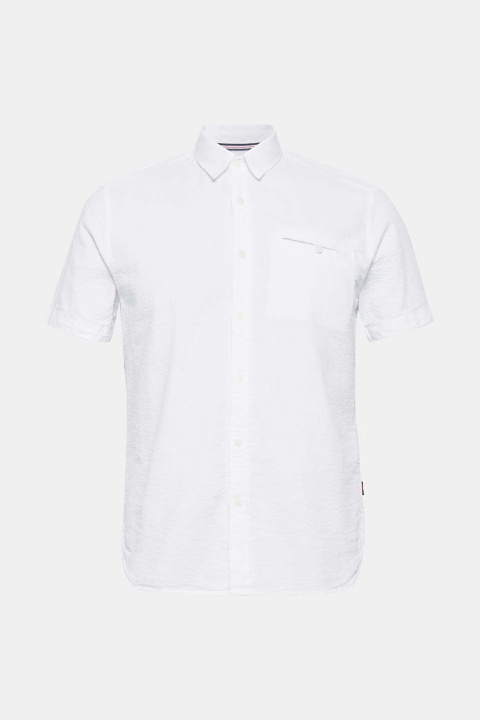 Shirts woven Slim fit, WHITE, detail image number 6