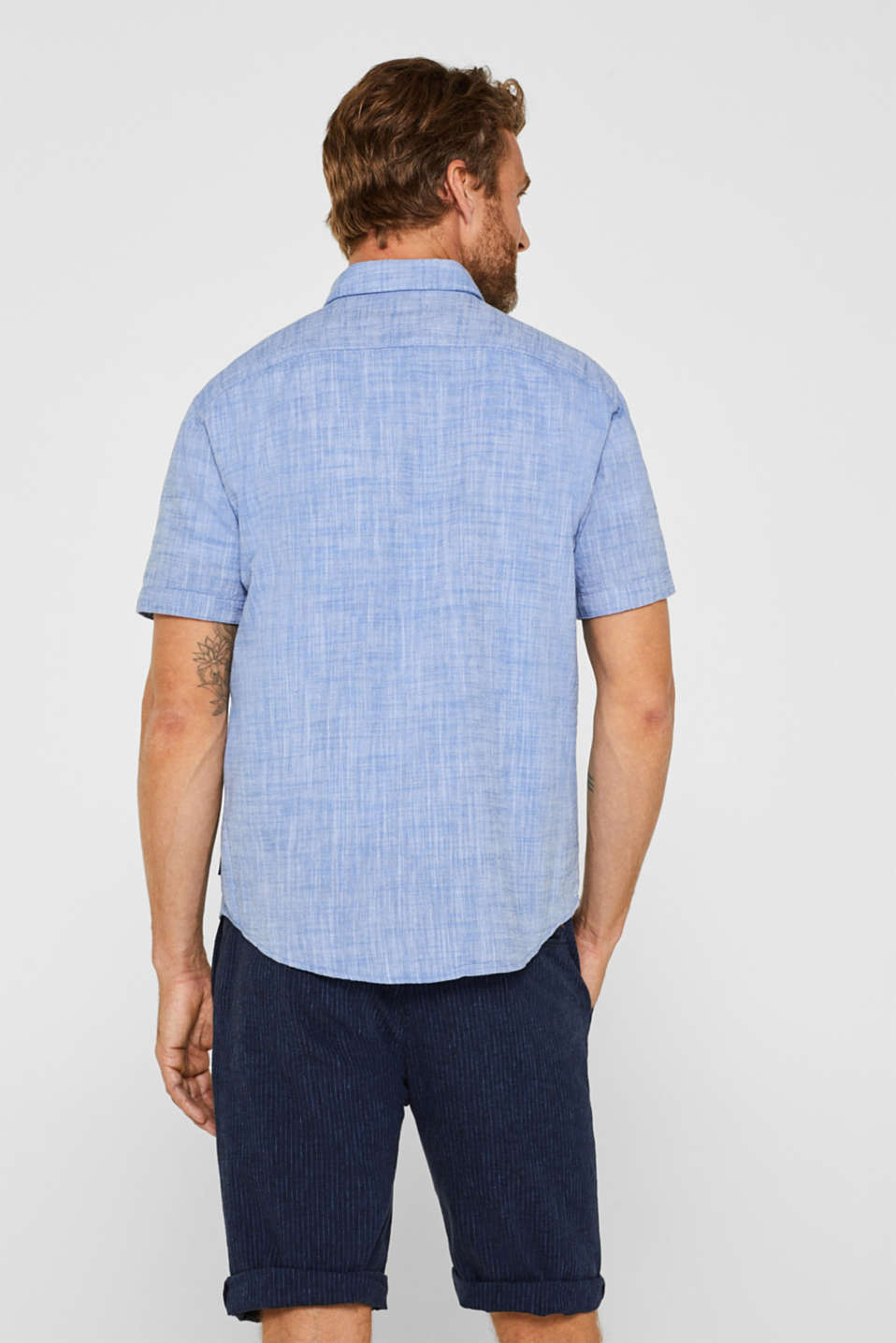 Shirts woven Regular fit, LIGHT BLUE, detail image number 3