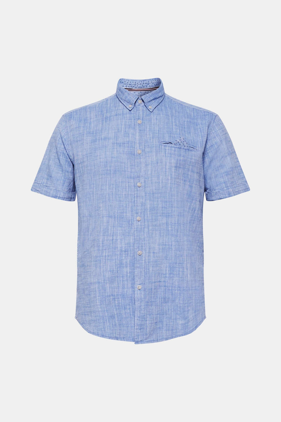 Shirts woven Regular fit, LIGHT BLUE, detail image number 6