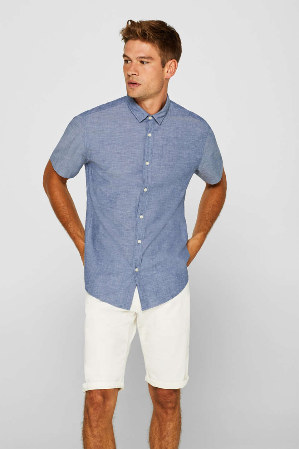 Esprit - Short sleeve shirt, 100% cotton
