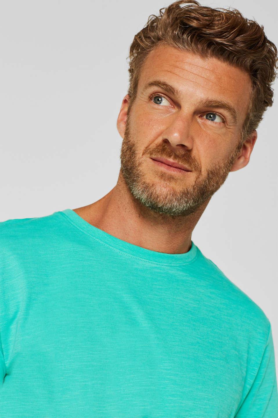 T-Shirts, AQUA GREEN, detail image number 6