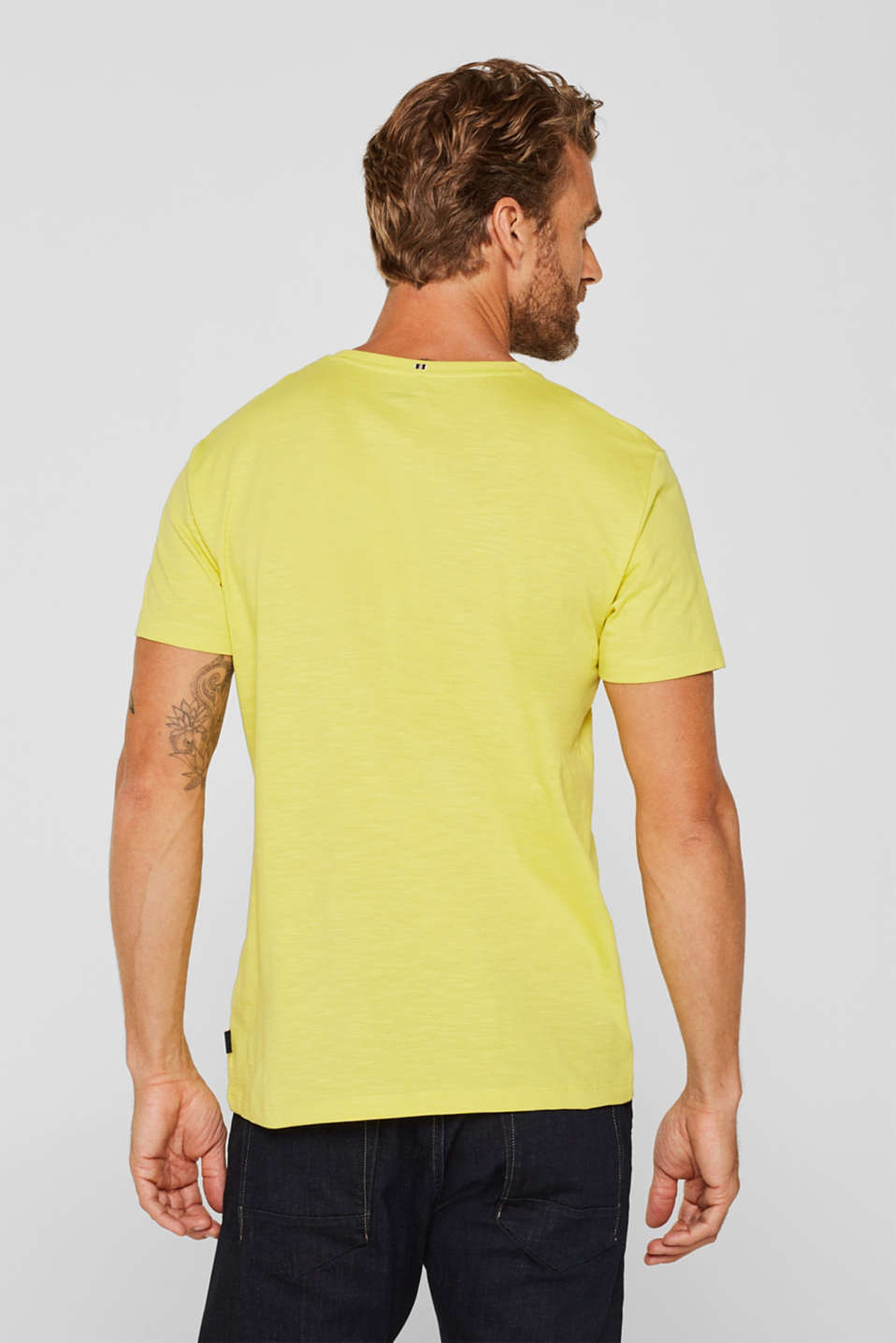 T-Shirts, YELLOW, detail image number 3