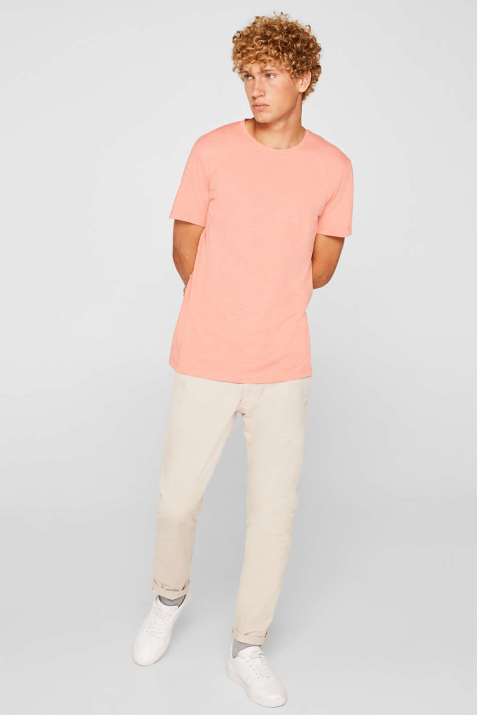 T-Shirts, SALMON, detail image number 4