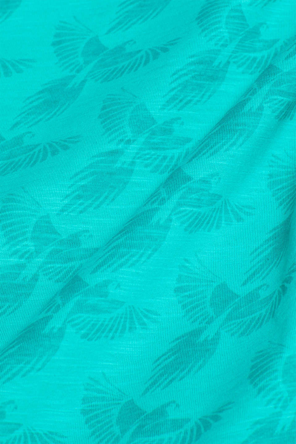 Polo shirts, AQUA GREEN, detail image number 4