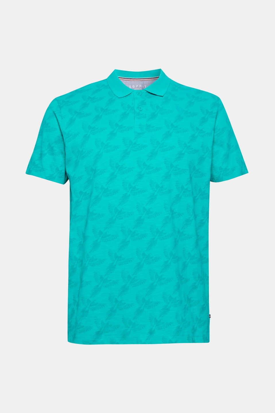 Polo shirts, AQUA GREEN, detail image number 6