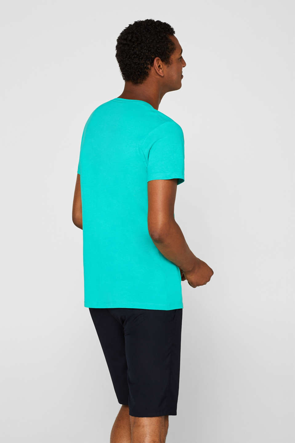 T-Shirts, AQUA GREEN, detail image number 3