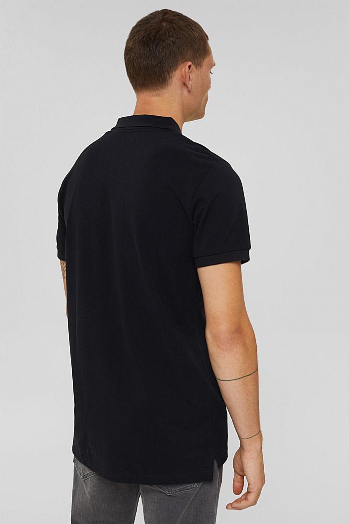 Koszulka polo w 100% z bawełny organicznej, BLACK, detail image number 3