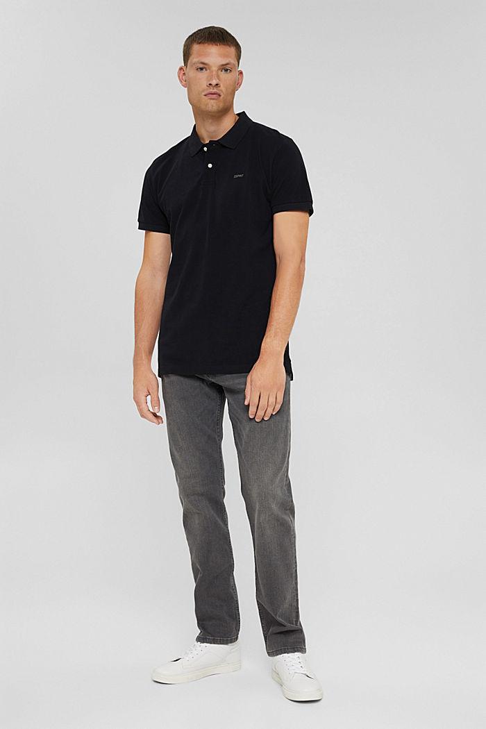Koszulka polo w 100% z bawełny organicznej, BLACK, detail image number 2