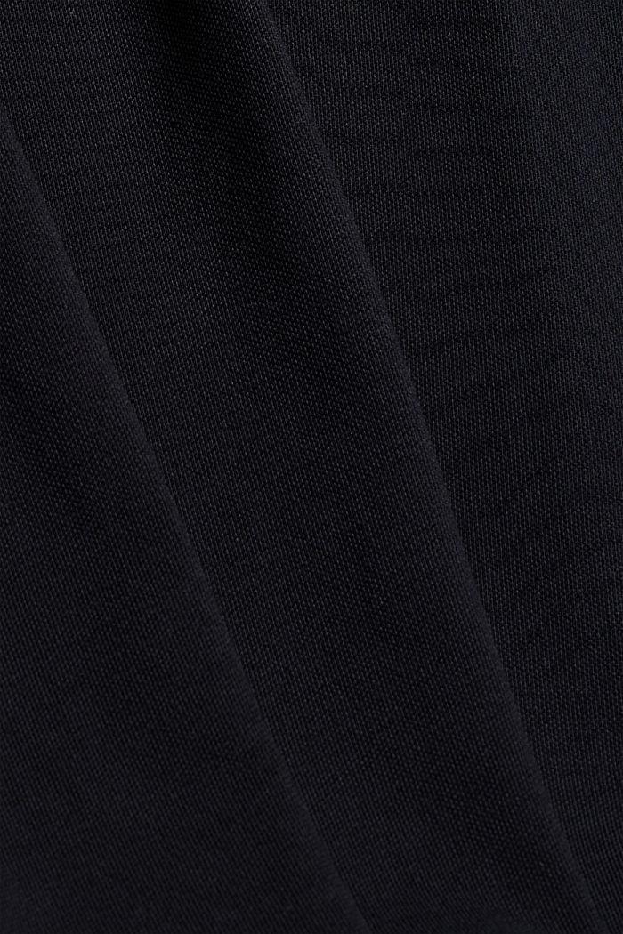 Koszulka polo w 100% z bawełny organicznej, BLACK, detail image number 4