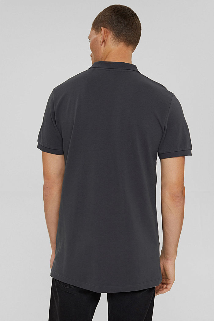 Polo-Hemd aus 100% Organic Cotton, ANTHRACITE, detail image number 3