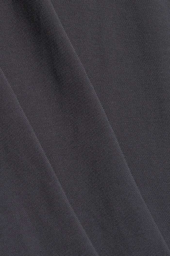 Polo-Hemd aus 100% Organic Cotton, ANTHRACITE, detail image number 4