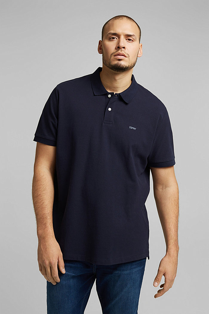 Polo shirt, NAVY, detail image number 0