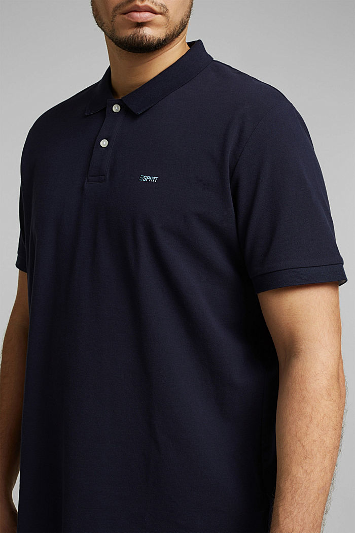 Polo shirt, NAVY, detail image number 1