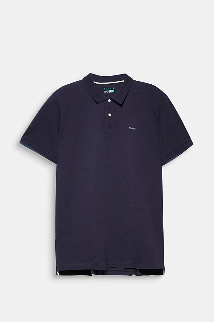 Polo shirt, NAVY, detail image number 6