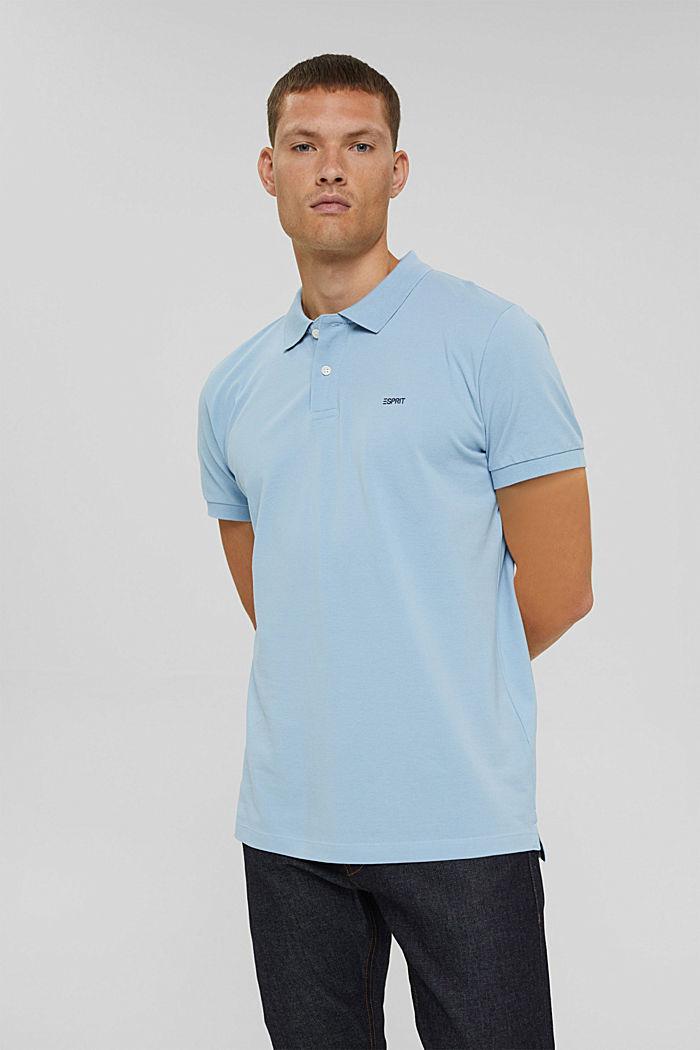 Koszulka polo w 100% z bawełny organicznej, LIGHT BLUE, detail image number 0