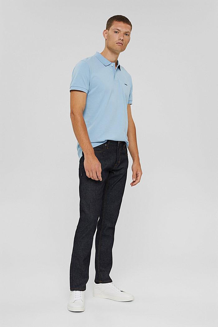 Koszulka polo w 100% z bawełny organicznej, LIGHT BLUE, detail image number 2