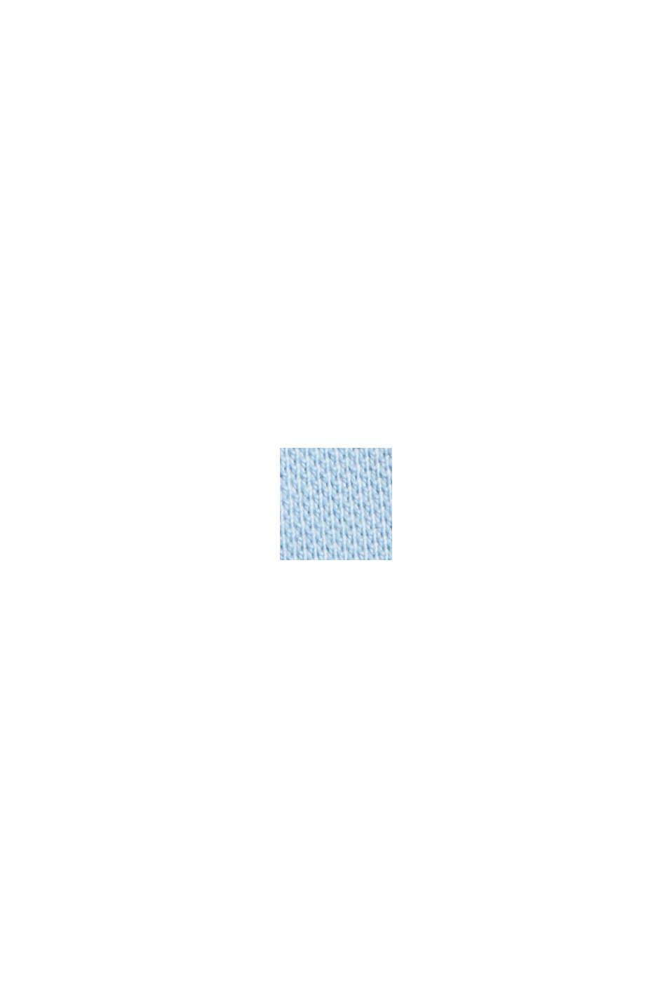 Chemise-polo en 100% coton biologique, LIGHT BLUE, swatch