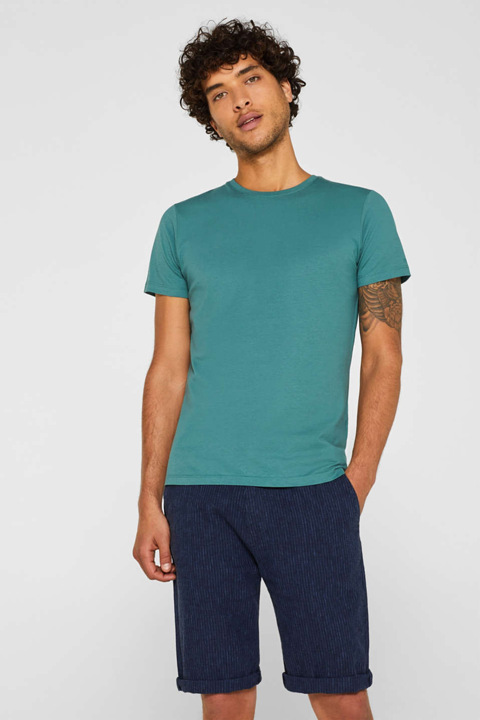 Esprit - Double pack of T-shirts made of 100% cotton