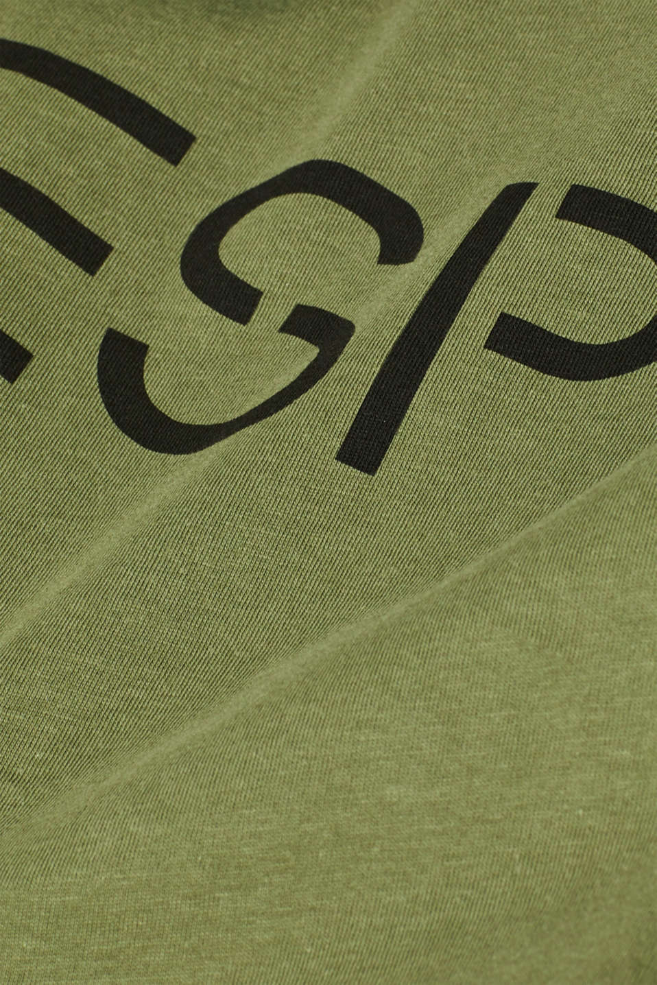 Double pack of T-shirts made of 100% cotton, KHAKI GREEN, detail image number 5