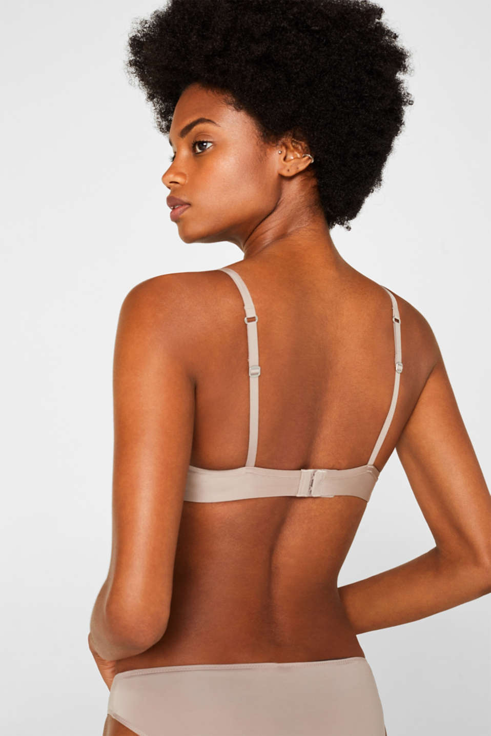 Bras with wire n/a, LIGHT TAUPE, detail image number 1