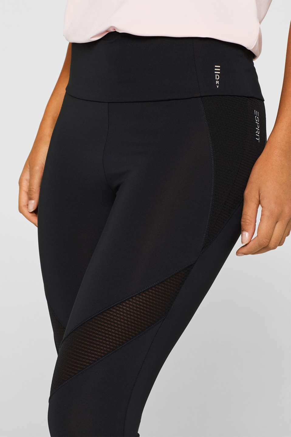 Pants knitted, BLACK, detail image number 2