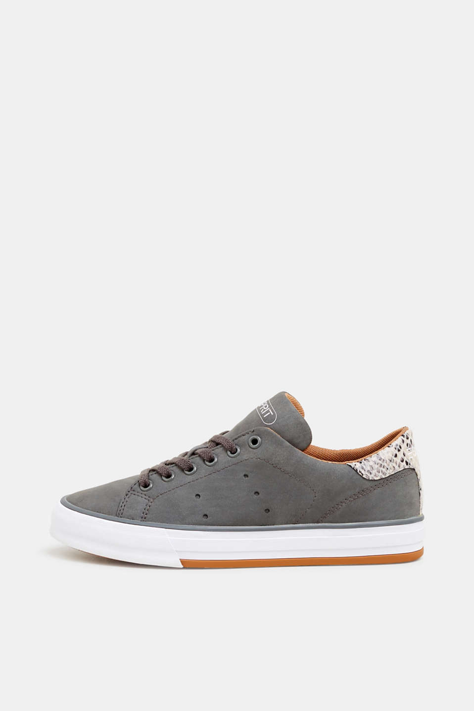 Esprit - Sneaker in Nubuk-Optik