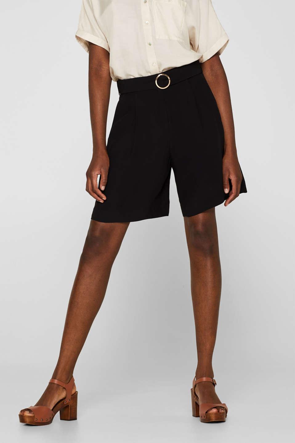 Shorts woven, BLACK, detail image number 5
