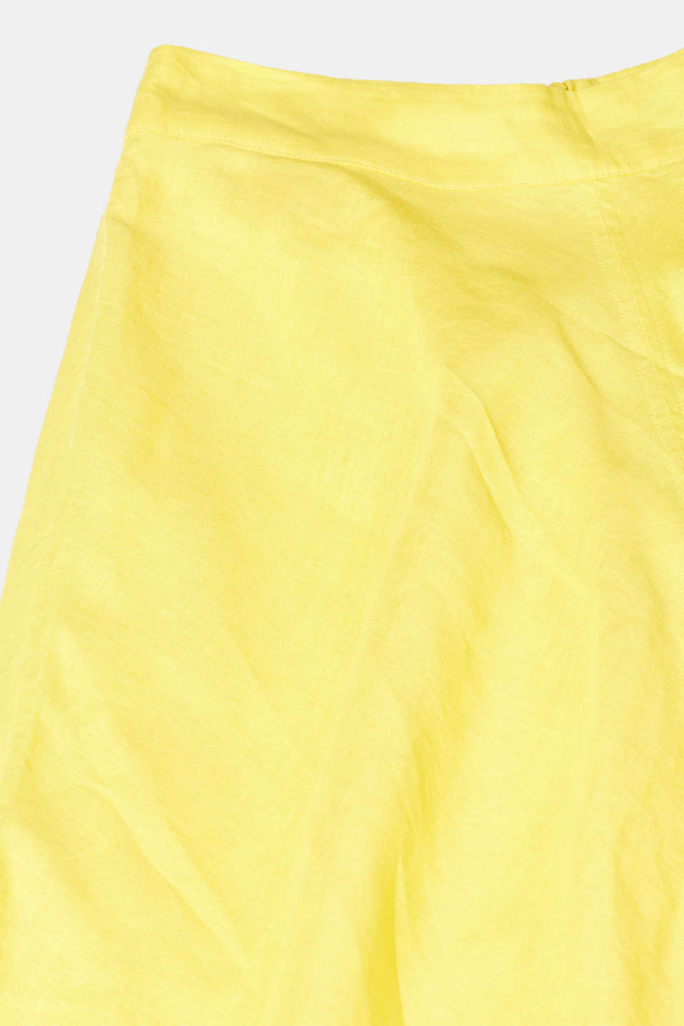 Skirts light woven, BRIGHT YELLOW, detail image number 4