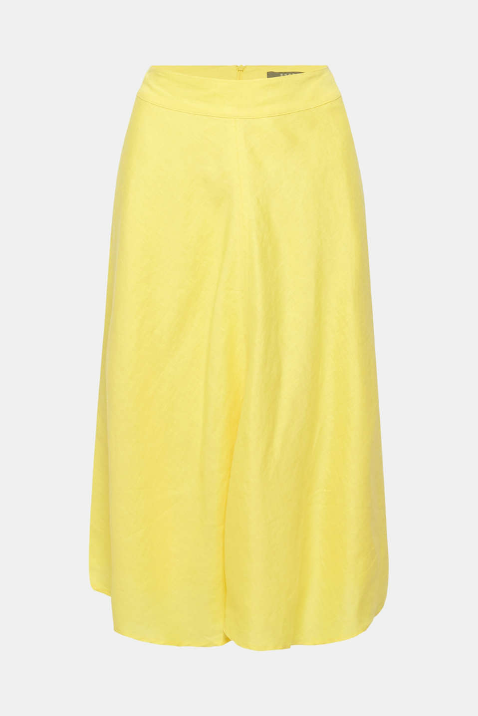 Skirts light woven, BRIGHT YELLOW, detail image number 6