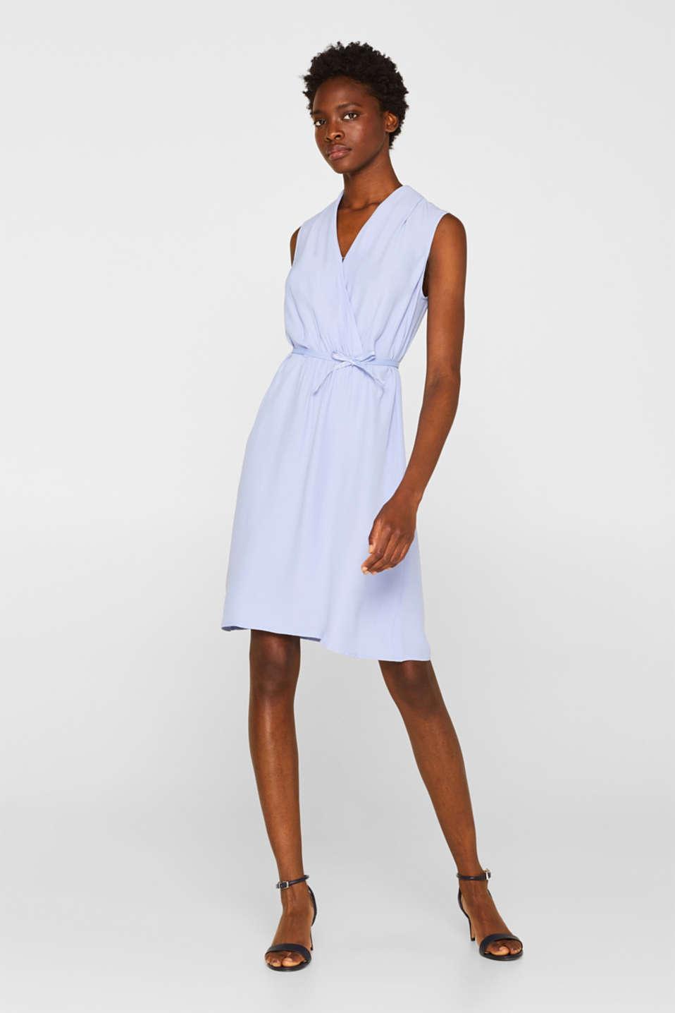 Dresses light woven, BLUE LAVENDER, detail image number 1