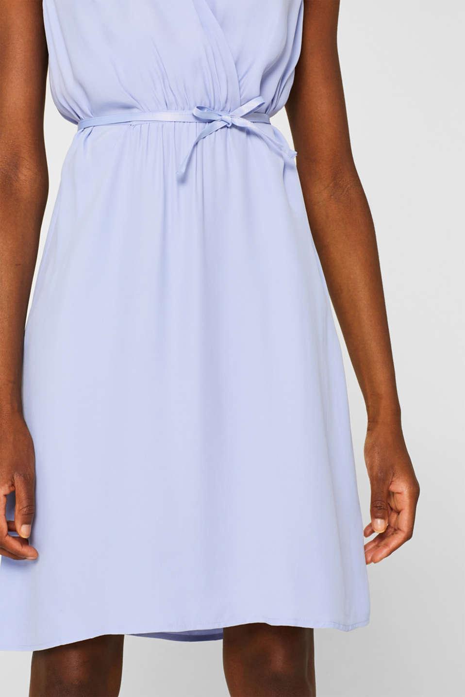 Dresses light woven, BLUE LAVENDER, detail image number 6