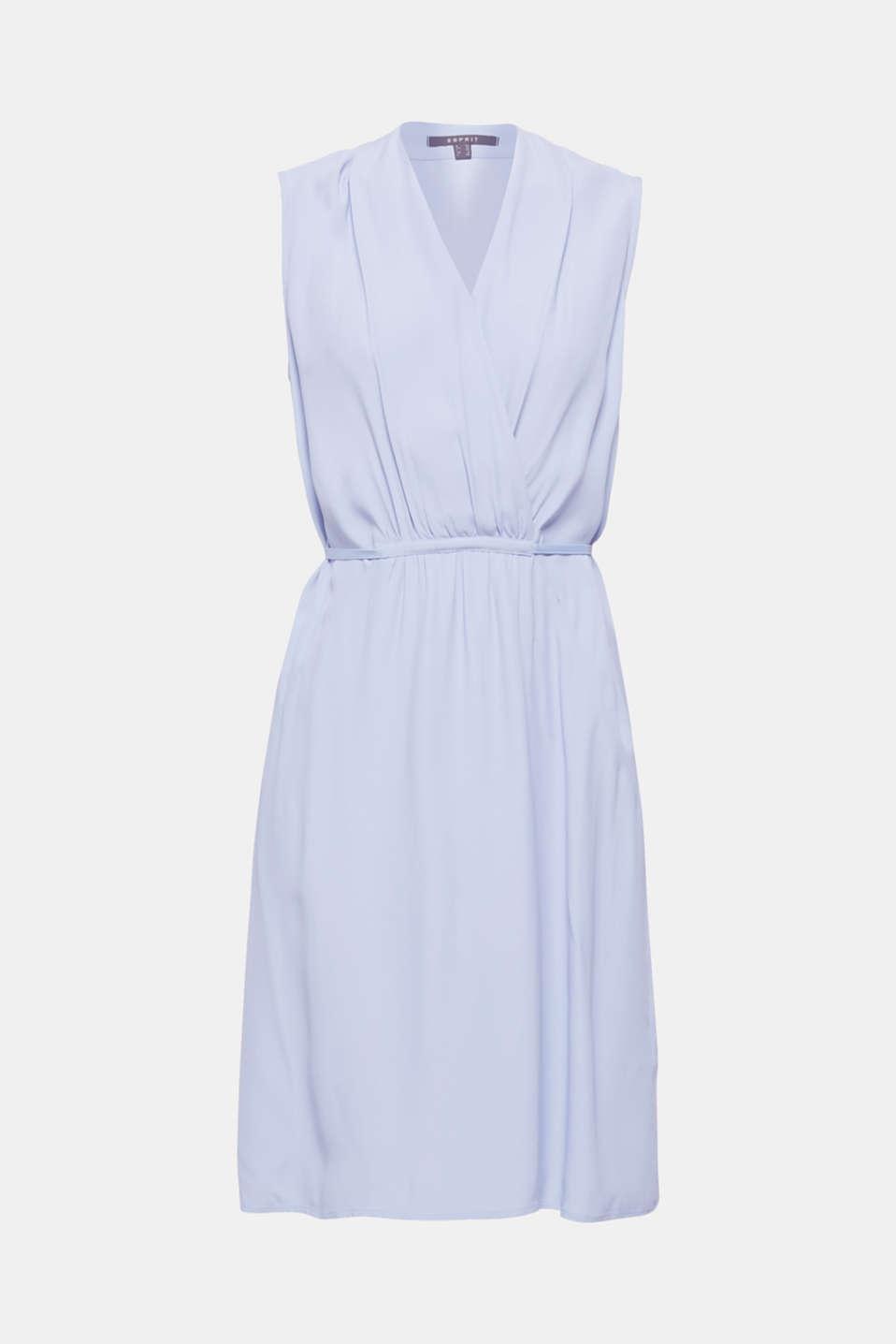Dresses light woven, BLUE LAVENDER, detail image number 7