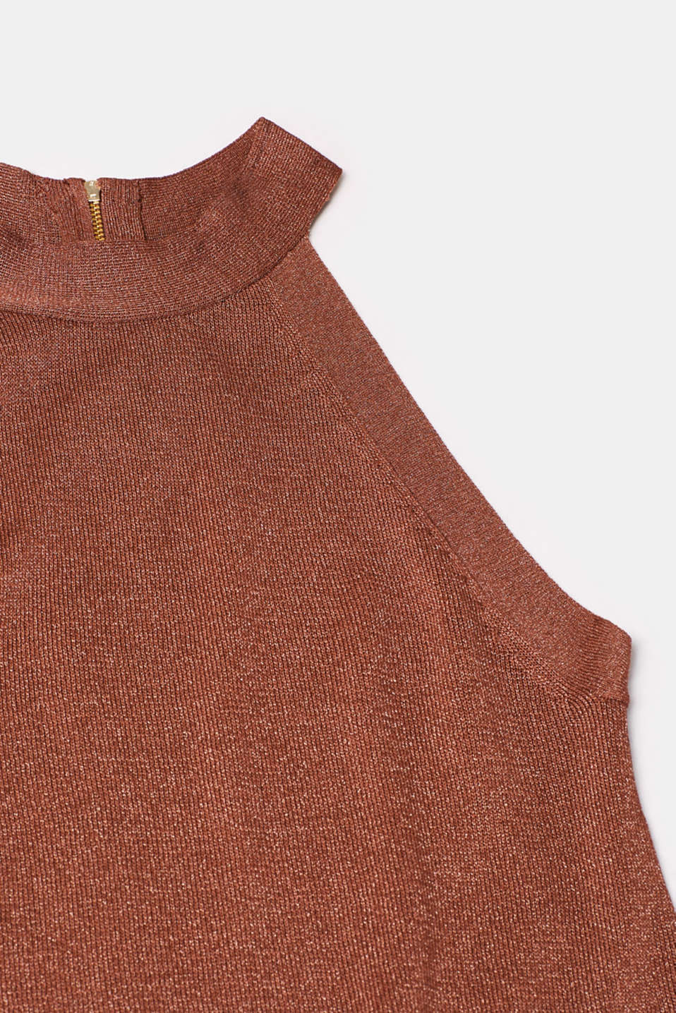Sweaters, BROWN, detail image number 4