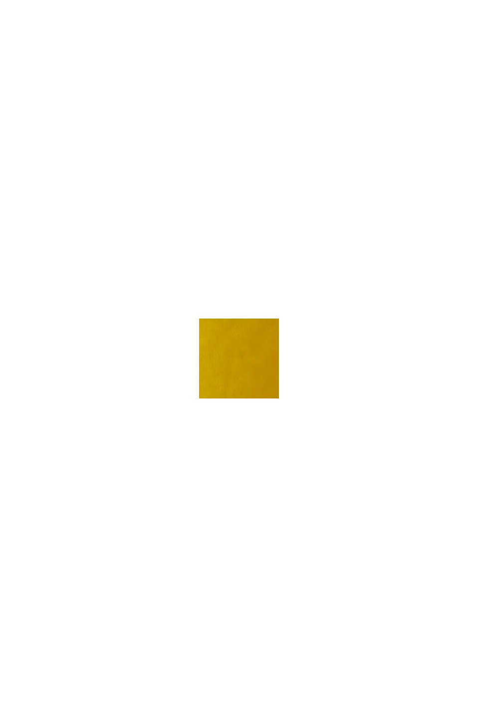Knoten-Bluse aus LENZING™ ECOVERO™, YELLOW, swatch