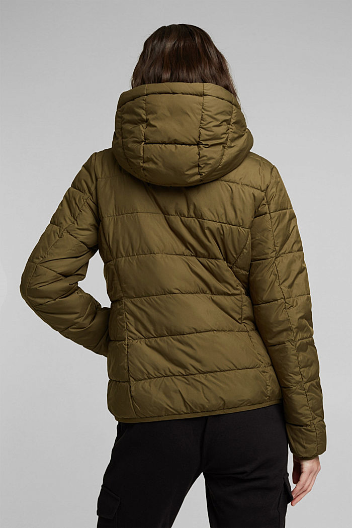 Quilted jacket with 3M™ Thinsulate™ padding, KHAKI GREEN, detail image number 3