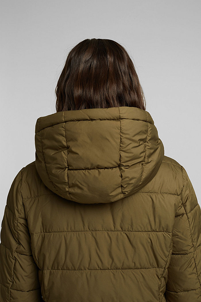 Quilted jacket with 3M™ Thinsulate™ padding, KHAKI GREEN, detail image number 4