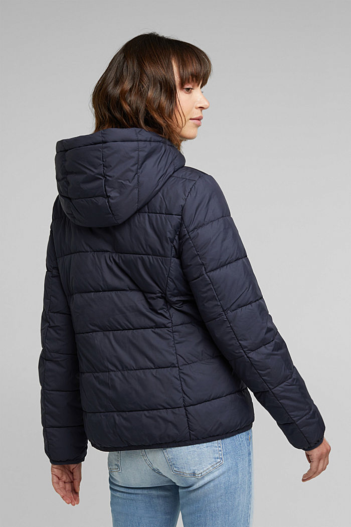 Quilted jacket with 3M™ Thinsulate™ padding, NAVY, detail image number 3