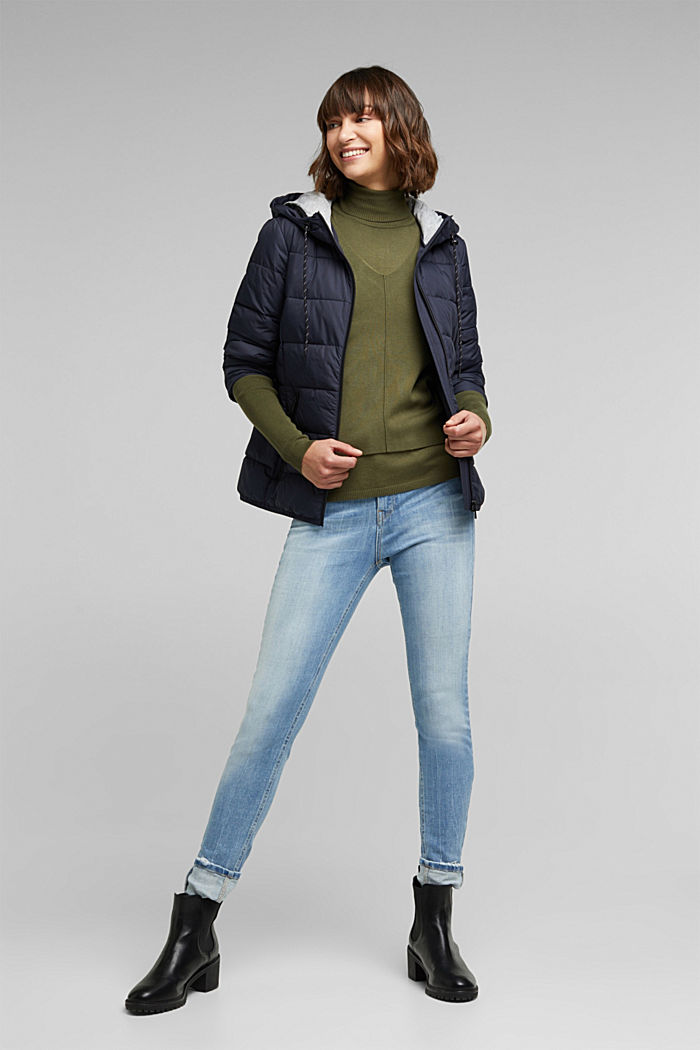 Quilted jacket with 3M™ Thinsulate™ padding, NAVY, detail image number 1
