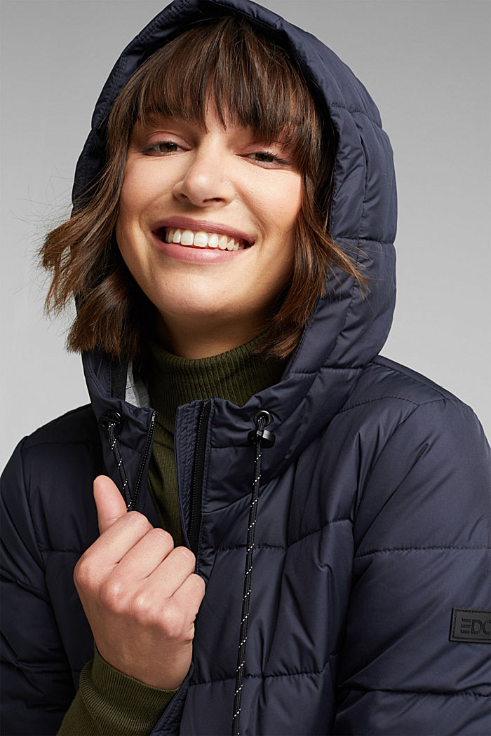 Quilted jacket with 3M™ Thinsulate™ padding, NAVY, detail image number 6