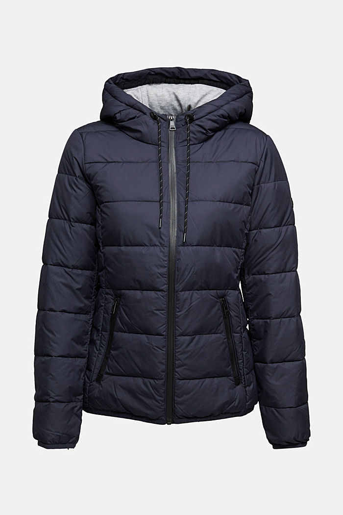 Quilted jacket with 3M™ Thinsulate™ padding, NAVY, detail image number 7