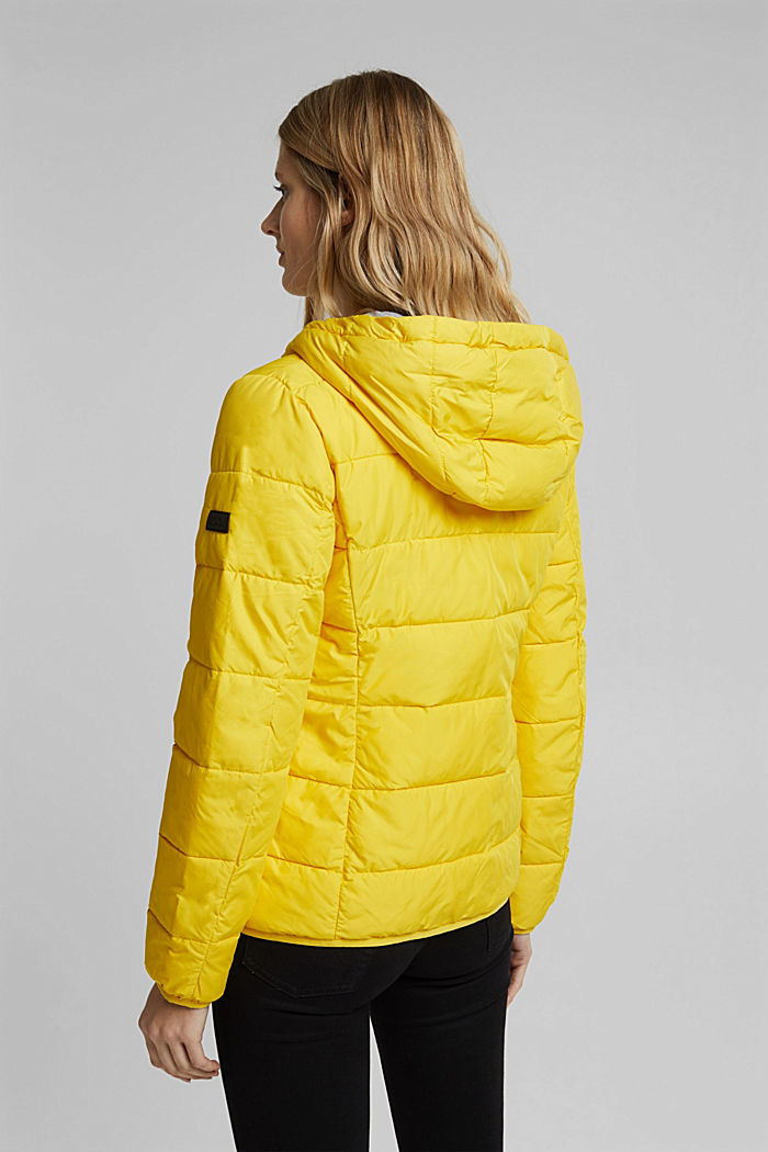 Quilted jacket with 3M™ Thinsulate™ padding, YELLOW, detail image number 3