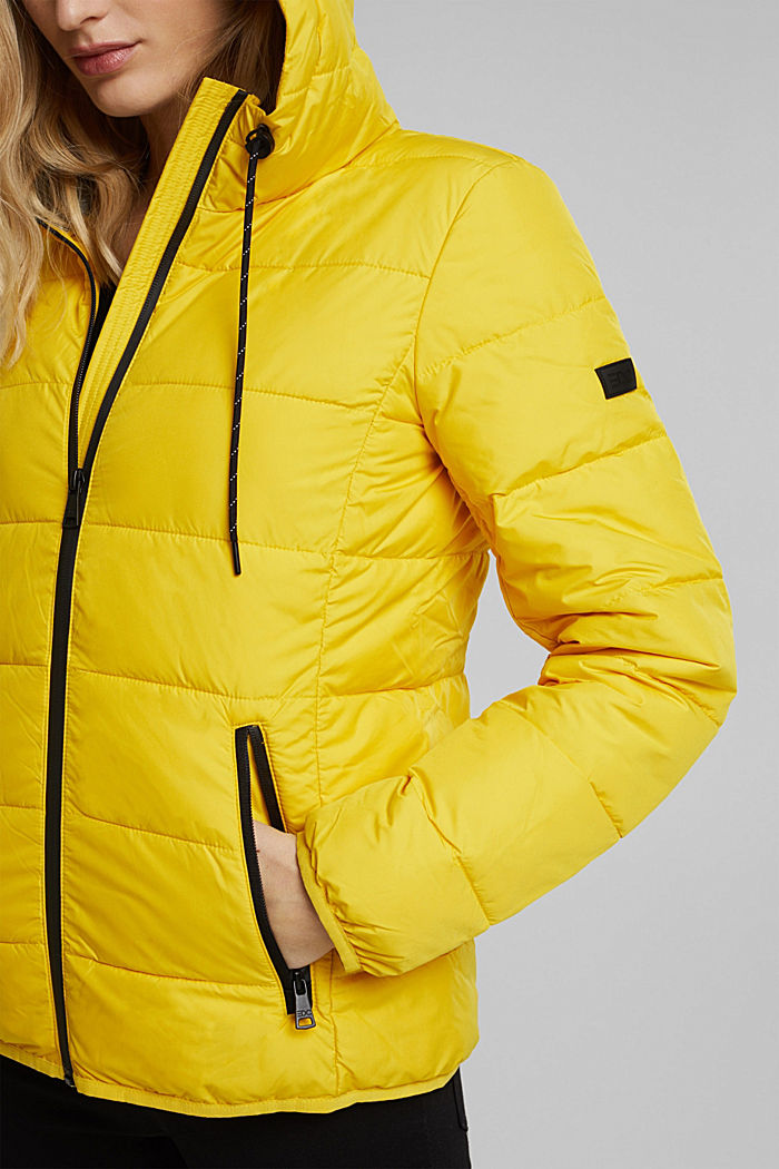 Stepp-Jacke mit 3M™ Thinsulate™, YELLOW, detail image number 2