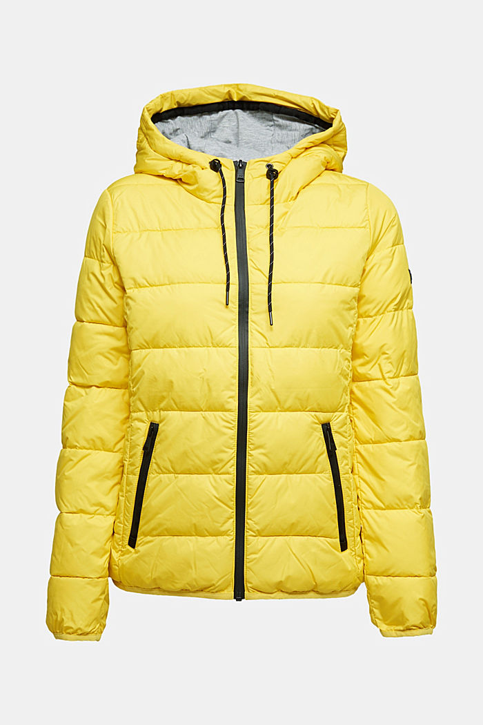 Quilted jacket with 3M™ Thinsulate™ padding, YELLOW, detail image number 4