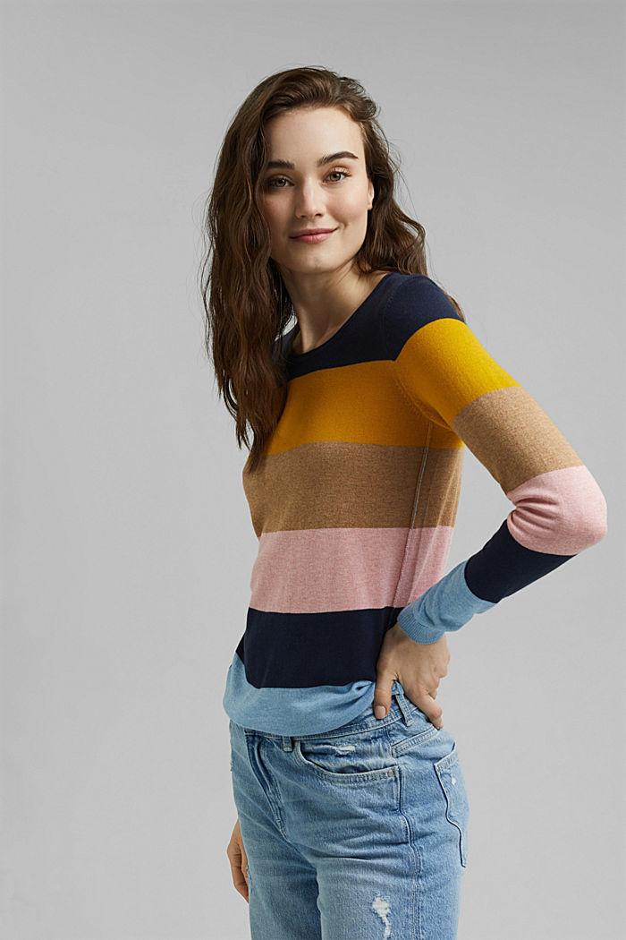 Basic Rundhals-Pullover, Organic Cotton