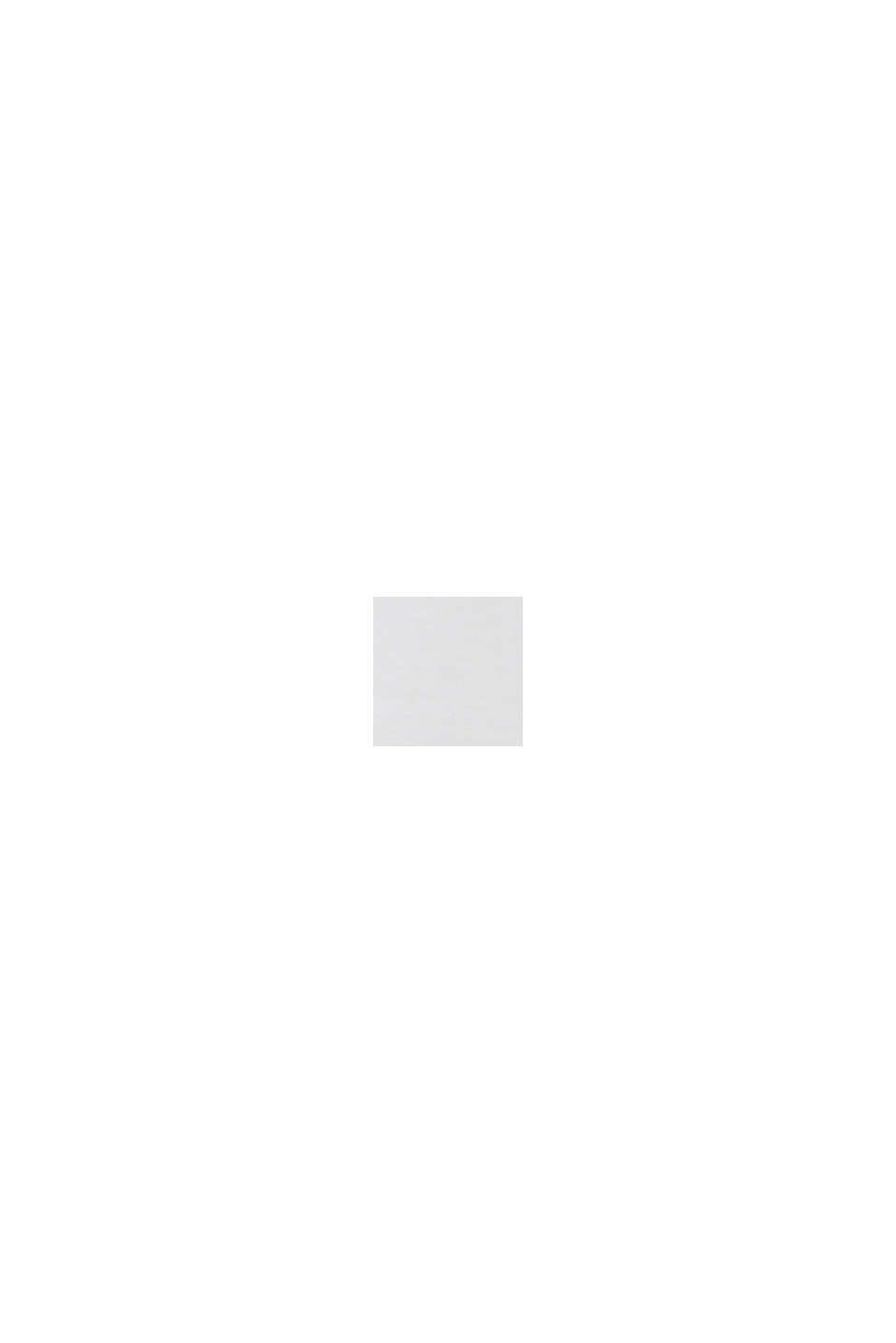 Kortärmad sweatshirt i ekologisk bomull, OFF WHITE, swatch