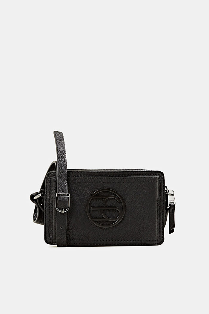Faux leather camera bag