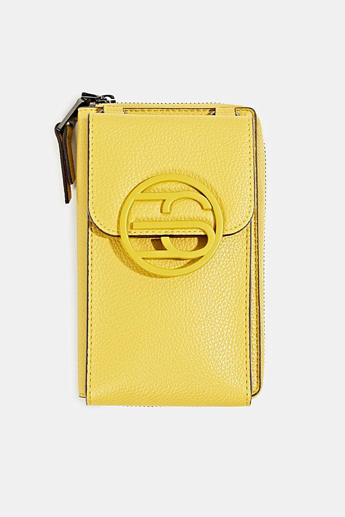Monogram range: phone bag and purse, BRASS YELLOW, detail image number 0